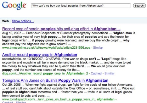 google search I did this morning